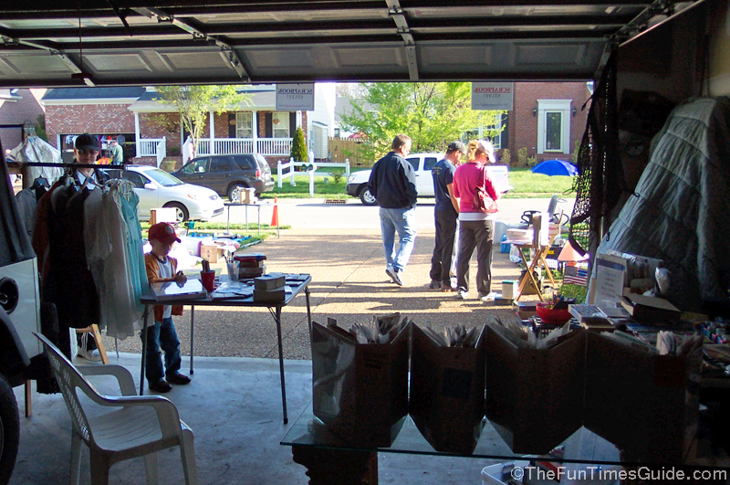 garage sale - sold $106.00